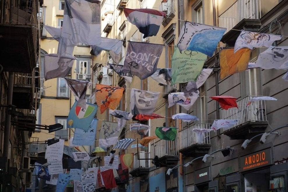 Arte, musica e installazioni, il Napoli Strit Festival invade il centro storico
