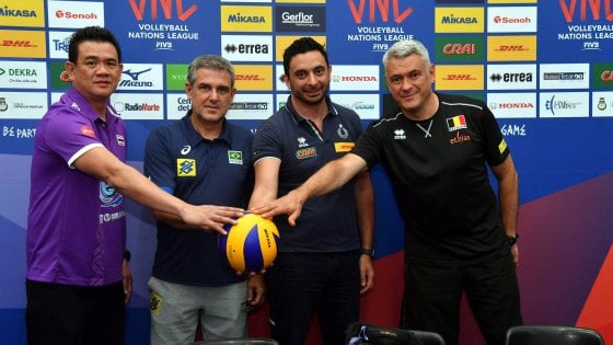 Volleyball Nations League: la Nazionale femminile di scena a Eboli