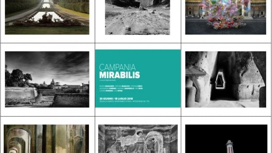 Alla Reggia di Caserta la mostra fotografica Campania Mirabilis