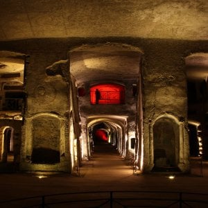 Napoli, un laboratorio di ceramica nelle catacombe di San Gennaro