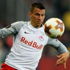 Napoli, Lainer è ad un passo dalla maglia azzurra: è stato protagonista in Europa League con il Salisburgo