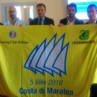 Potenza, consegnate al Comune di Maratea le 5 Vele della Legambiente