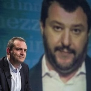 """Salvini a de Magistris: """"Io come Hitler? Roba da matti"""""""
