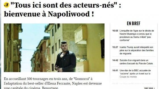 """La Francia incorona """"Napoliwood"""": è la nuova capitale del cinema"""