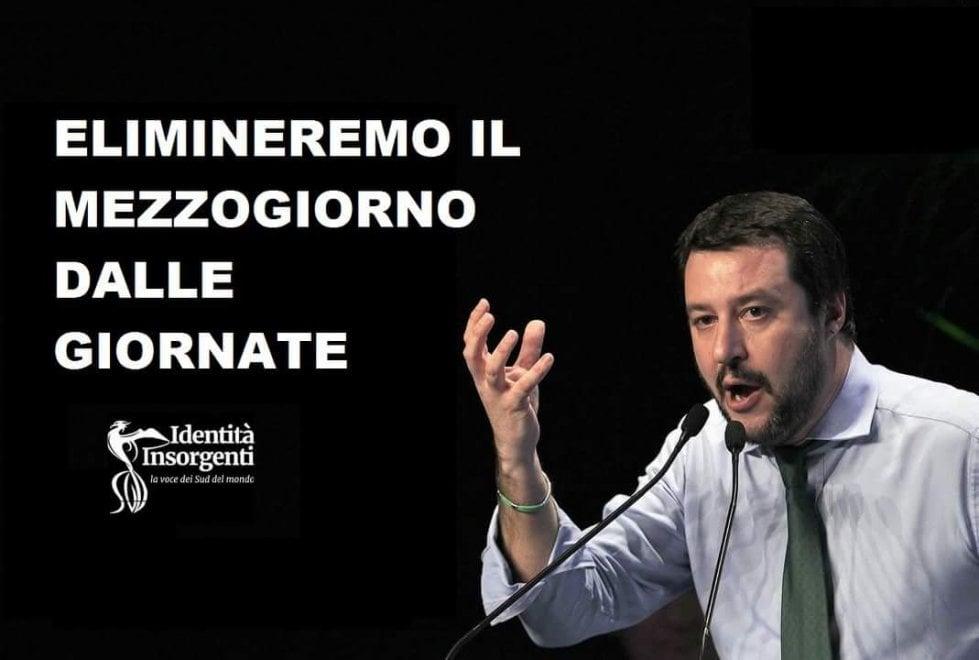 Immigrazione e Salvini, è virale la campagna lanciata sul web da Identità insorgenti