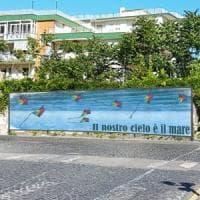 Torre Annunziata, un murale in ricordo delle vittime del crollo di via Rampa