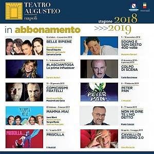 Napoli, la nuova stagione del teatro Auguste tra musical e Commedia dell'Arte