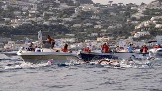 Capri-Napoli, che svolta: per la prima volta arrivo ad Ercolano