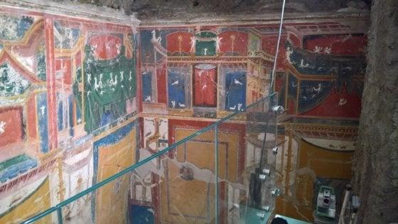 Positano, riapre la Villa romana sepolta dall'eruzione
