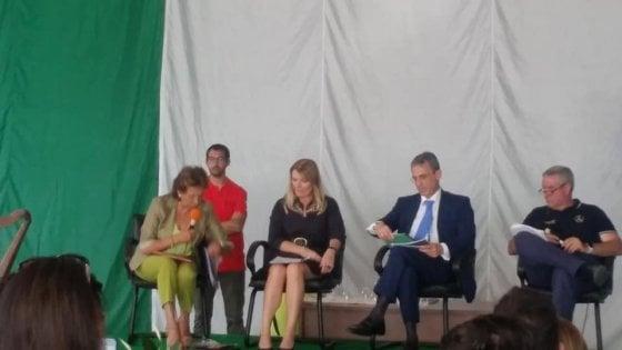 Potenza, a Viggiano il Ministro dell'Ambiente Sergio Costa