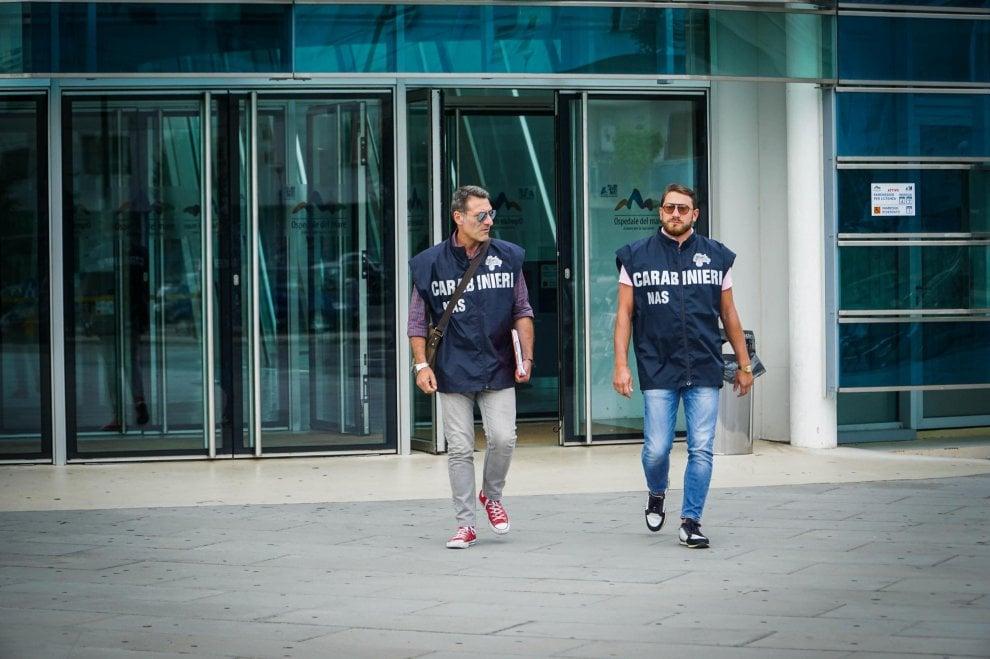 I Nas all'ospedale del Mare: primario sospeso dopo la chiusura del reparto