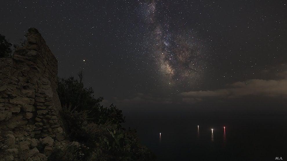Ischia, senza inquinamento luminoso ecco la via Lattea