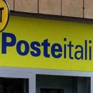 Crolla soffitto in ufficio postale Napoli, dipendente ferito