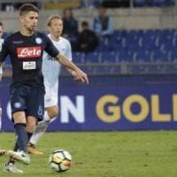 Napoli, l'addio di Jorginho: