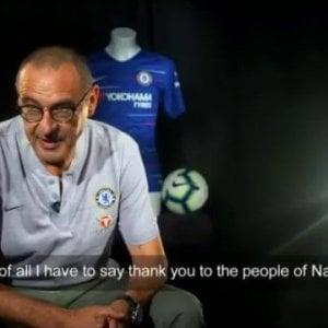 """Sarri da Londra: """"Amerò Napoli per sempre, mi ha sostenuto in ogni modo"""""""
