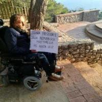 Belvedere negato Anacapri,da disabile nuovo sos a Mattarella