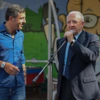 Salerno: il sindaco non c'è, De Luca inaugura il campetto comunale