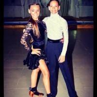 Luigi e Aurora, da Castellammare e Torre Annunziata, giovani promesse del ballo sul podio nazionale nella danza latino-americana