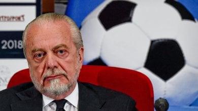 """Dimaro, De Laurentiis:    """"Non prendo Cavani, Milik farà 30 gol"""""""