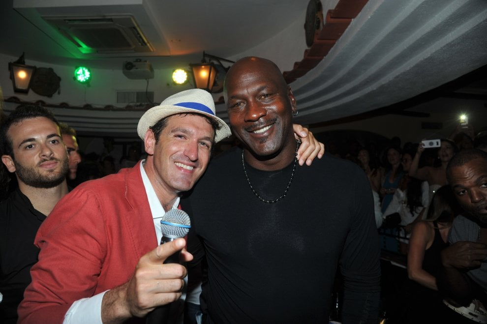 Capri, Michael Jordan all'Anema e Core