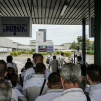 Marchionne: lo stabilimento di Pomigliano si ferma per 10 minuti