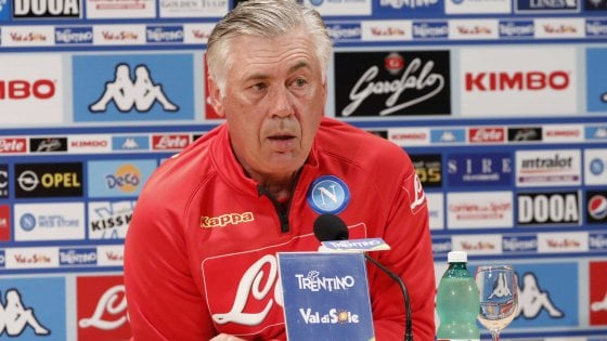 Napoli, Ancelotti frena: