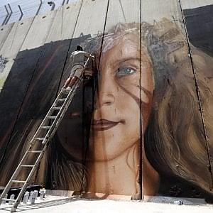 """La sfida di Jorit: """"Il mio murale per la causa palestinese"""""""