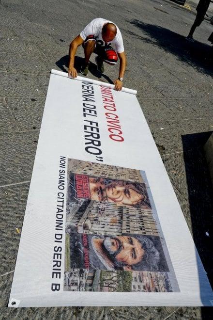 Napoli, la mobilitazione per lo street artist Jorit