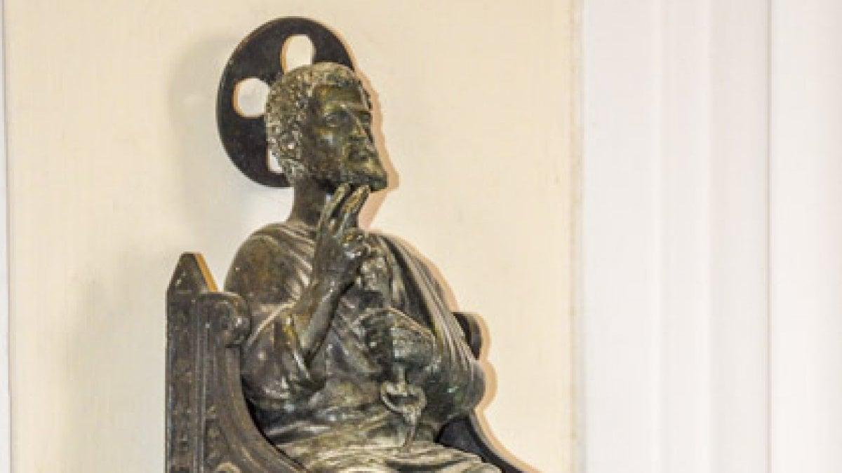 Capri rispunta la statua del santo trafugata a febbraio for Soluzione giardino di era