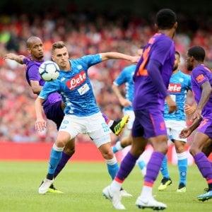 Napoli, è ora di campionato, Ancelotti crede in Milik