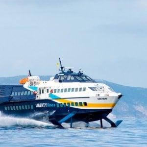 Soppresso l'aliscafo da isole siciliane per Napoli, disagi per 170 turisti