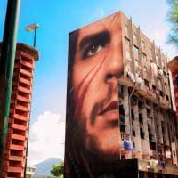 Il Che Guevara di San Giovanni, Jorit termina il murale