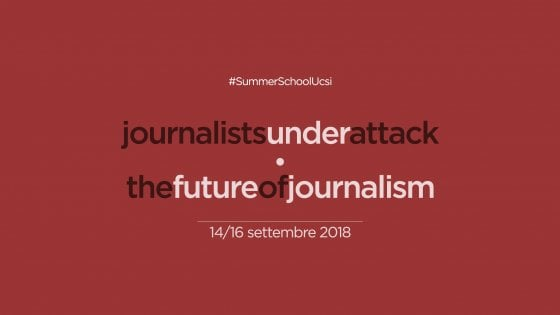 "A Casal di Principe giornalisti da tutt'Italia per ""Journalists under attack/The future of journalism"""