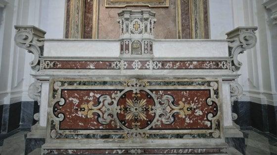Riapre dopo quarant'anni la chiesa di Santa Maria della Colonna in centro storico