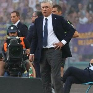 """Napoli, la carica di Ancelotti: """"Abbiamo giocato bene, siamo pronti per la Champions"""
