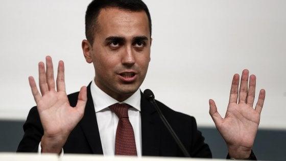 """Di Maio: """"In settimana parte la Zona economica speciale in Campania"""""""