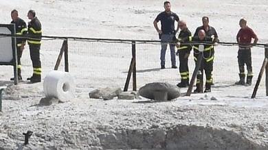Turisti morti alla Solfatara un anno fa, nominati sette periti