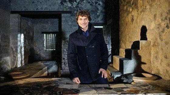 """La Pompei di Alberto Angela: """"Gli scavi di notte come n"""