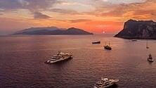 Capri, l'alba a Marina Grande è un incanto