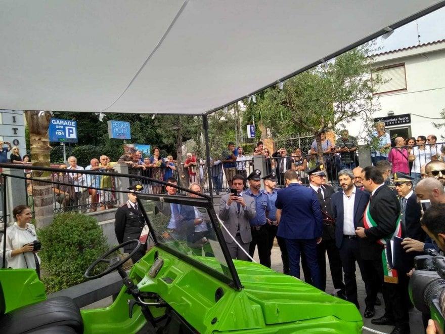 Vico Equense, Roberto Fico alla cerimonia per Giancarlo Siani