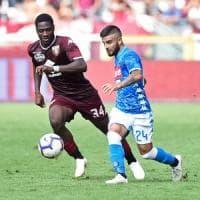 SuperInsigne, il Napoli batte il Torino Ancelotti: