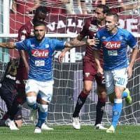 SuperInsigne, il Napoli batte il Torino