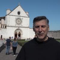 La Campania ad Assisi per accendere la lampada votiva