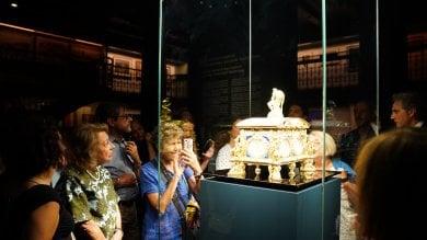 """Capodimonte a Milano, in mostra la """"Cassetta Farnese""""   foto"""