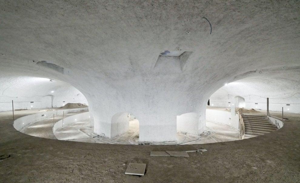 La piazza ritrovata sotto il Plebiscito: un ipogeo di oltre mille metri quadri tra i cunicoli