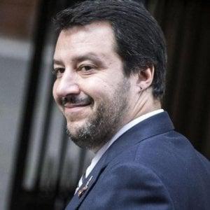Salvini atterra a Capodichino