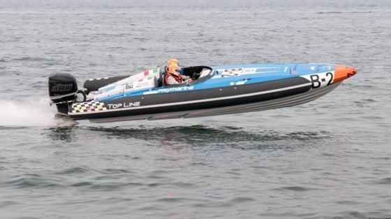 Motonautica, mondiale a Ischia, Di Meglio e Segnini al secondo posto