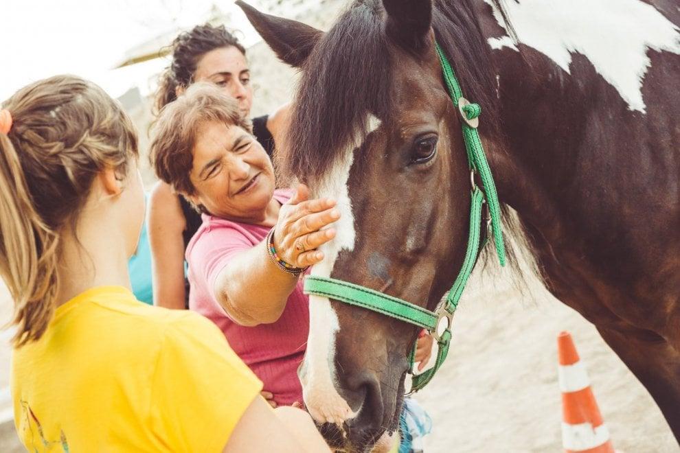 Ischia per la disabilità: a cavallo di Clarabella per abbattere le barriere