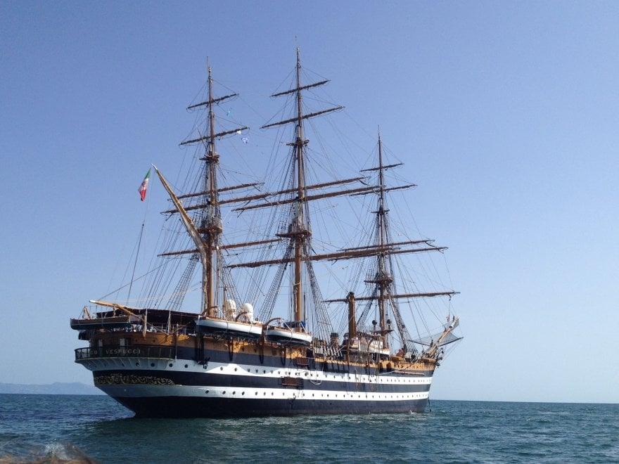 Il Vespucci torna a casa, il 20 e 21 ottobre sarà a Castellammare