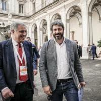 Napoli, Roberto Fico incontra gli armatori nel complesso di San Lorenzo Maggiore